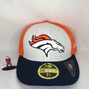 Denver Broncos 5950 New Era Fitted (Low Pro)